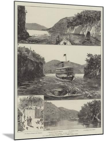 Sketches from Burmah, Up the Chindwin-William Heysham Overend-Mounted Giclee Print