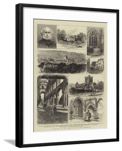 Centenary of the Birth of Sir David Brewster-William Henry James Boot-Framed Art Print