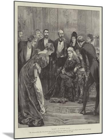 Becket, at Windsor Castle-William Heysham Overend-Mounted Giclee Print