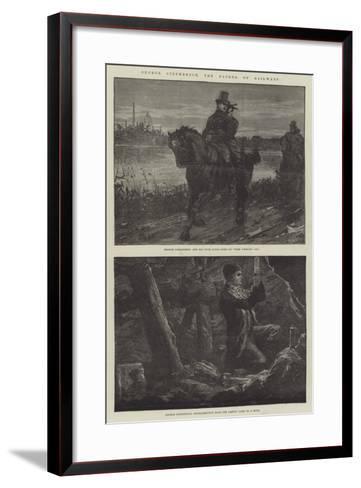 George Stephenson, the Father of Railways-William Heysham Overend-Framed Art Print