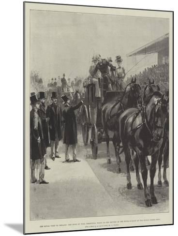 The Royal Visit to Ireland-William Heysham Overend-Mounted Giclee Print