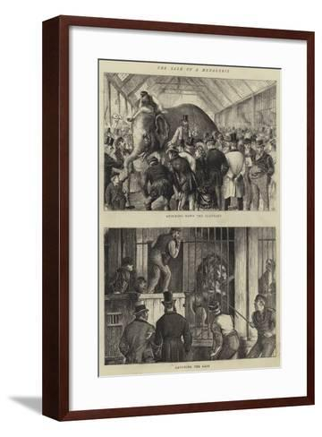 The Sale of a Menagerie-William Ralston-Framed Art Print