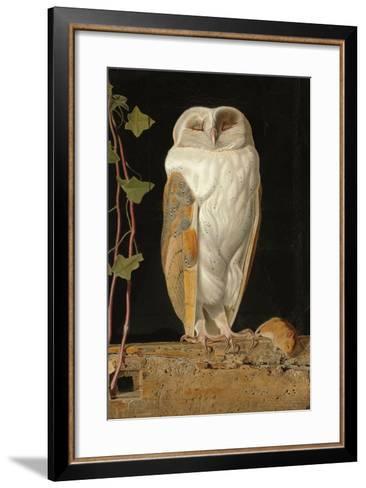 The White Owl, 1856-William J^ Webbe-Framed Art Print