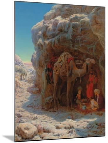 The Shadow of a Rock-William J^ Webbe-Mounted Giclee Print