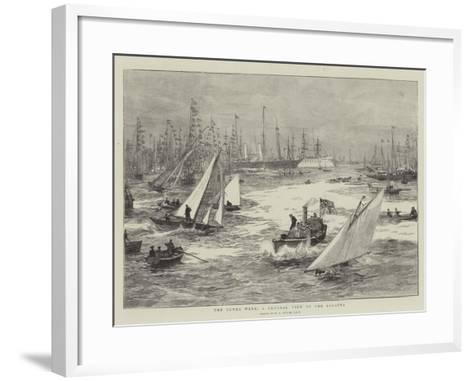 The Cowes Week, a General View of the Regatta-William Lionel Wyllie-Framed Art Print