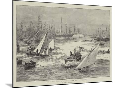 The Cowes Week, a General View of the Regatta-William Lionel Wyllie-Mounted Giclee Print