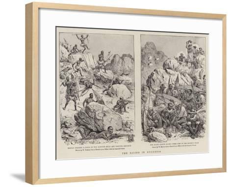 The Rising in Rhodesia-William Ralston-Framed Art Print