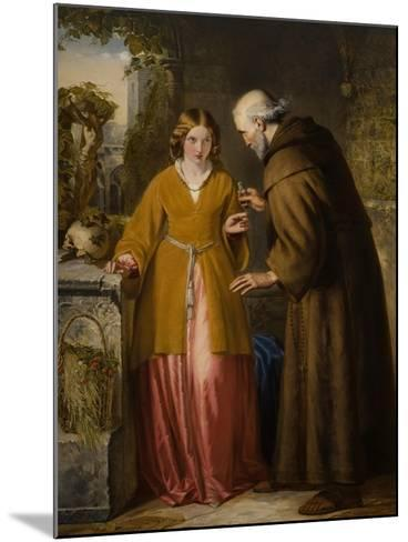 Juliet and the Friar 'Take Thou This Phial'-William James Grant-Mounted Giclee Print