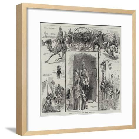 The Trooper of the Future-William Ralston-Framed Art Print