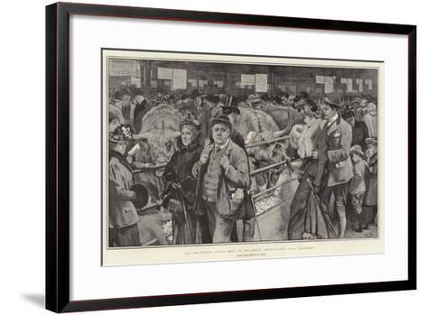 The Smithfield Club's Show at the Royal Agricultural Hall, Islington-William Small-Framed Art Print