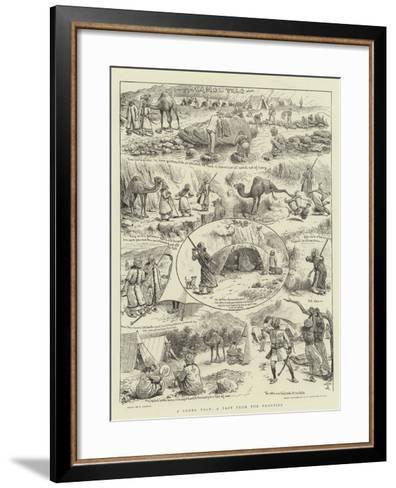 A Camel Tale, a Fact from the Frontier-William Ralston-Framed Art Print