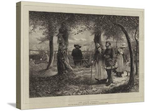 The Votive Offering-William John Hennessy-Stretched Canvas Print