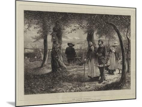 The Votive Offering-William John Hennessy-Mounted Giclee Print