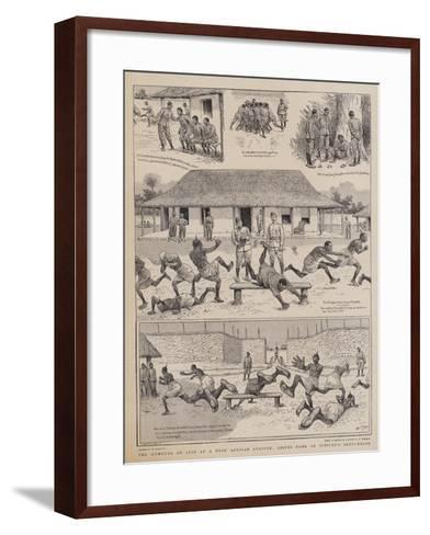 The Humours of Life at a West African Station, Leaves from an Officer's Sketchbook-William Ralston-Framed Art Print