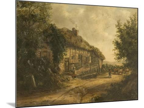 Cottages at Petersfield Hampshire, 1839-William Kidd-Mounted Giclee Print