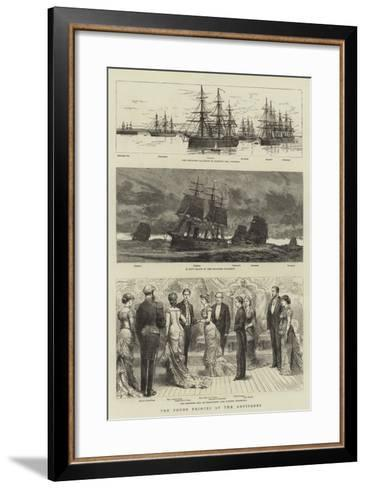 The Young Princes at the Antipodes-William Lionel Wyllie-Framed Art Print