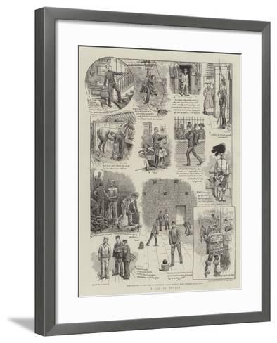 A Lad of Mettle-William Ralston-Framed Art Print
