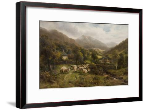 Aber, North Wales-William Langley-Framed Art Print