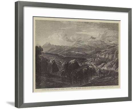 Morning-William Leighton Leitch-Framed Art Print