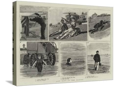 Last Days at the Seaside-William Lockhart Bogle-Stretched Canvas Print