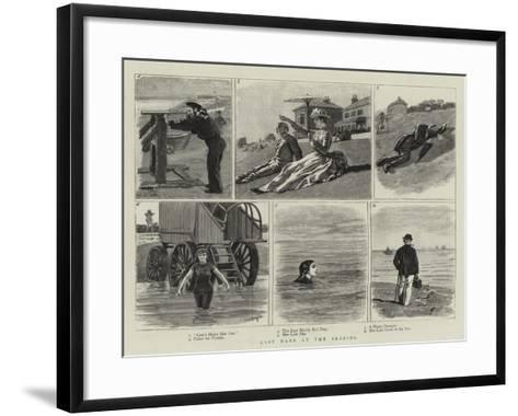 Last Days at the Seaside-William Lockhart Bogle-Framed Art Print