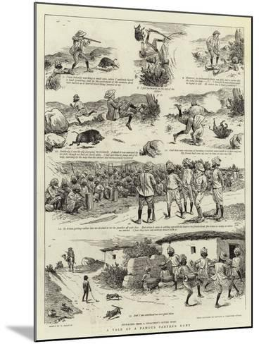A Tale of a Famous Panther Hunt-William Ralston-Mounted Giclee Print