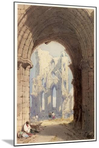 Tynemouth Priory-William Roxby Beverley-Mounted Giclee Print
