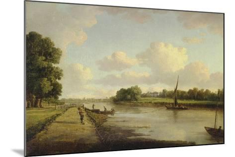 View on the River Thames at Richmond (?), C.1776-William Marlow-Mounted Giclee Print