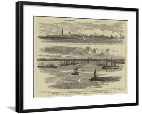 The Crisis in Egypt-William Lionel Wyllie-Framed Art Print