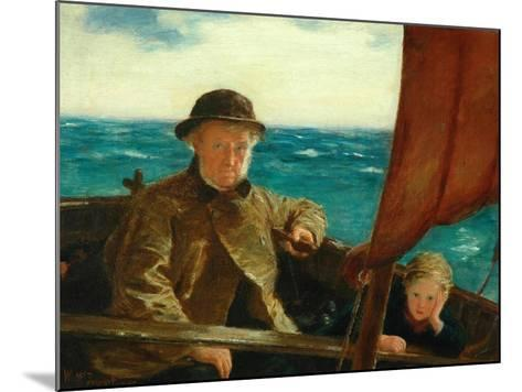Father Is at the Helm, 1889-William McTaggart-Mounted Giclee Print