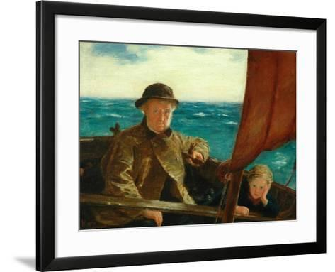Father Is at the Helm, 1889-William McTaggart-Framed Art Print