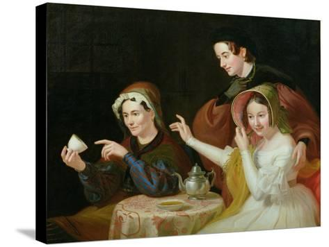Dregs in the Cup, 1838-William Sidney Mount-Stretched Canvas Print