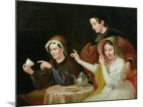 Dregs in the Cup, 1838-William Sidney Mount-Mounted Giclee Print