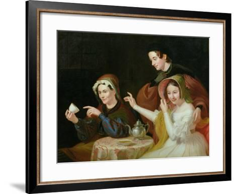 Dregs in the Cup, 1838-William Sidney Mount-Framed Art Print