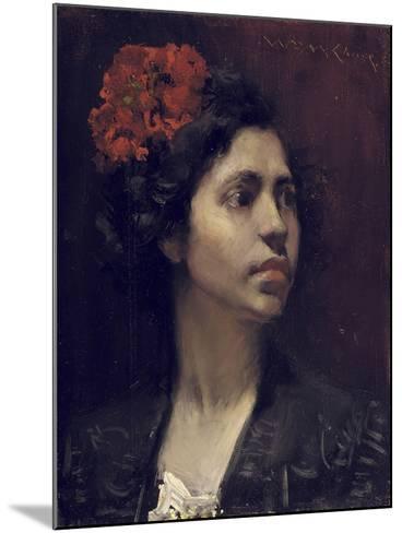 Spanish Girl-William Merritt Chase-Mounted Giclee Print