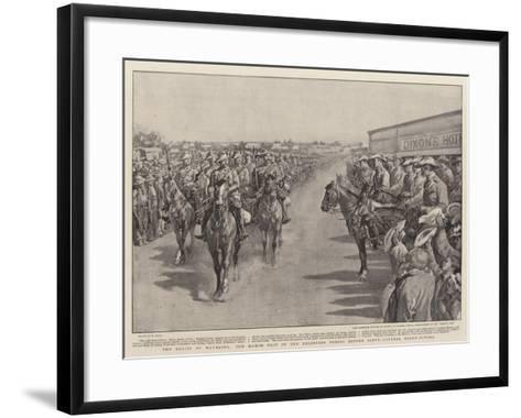 The Relief of Mafeking-William Small-Framed Art Print