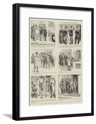 The Vexed Question of Uniform and Plain Clothes-William Ralston-Framed Art Print