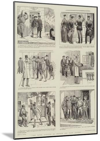 The Vexed Question of Uniform and Plain Clothes-William Ralston-Mounted Giclee Print