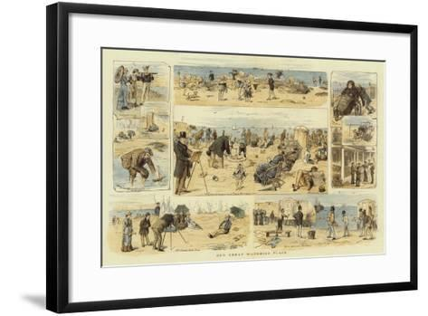 Our Great Watering Place-William Ralston-Framed Art Print