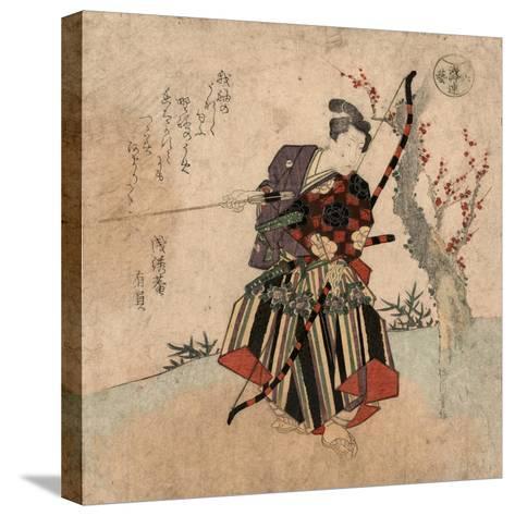 Shya-Yanagawa Shigenobu-Stretched Canvas Print
