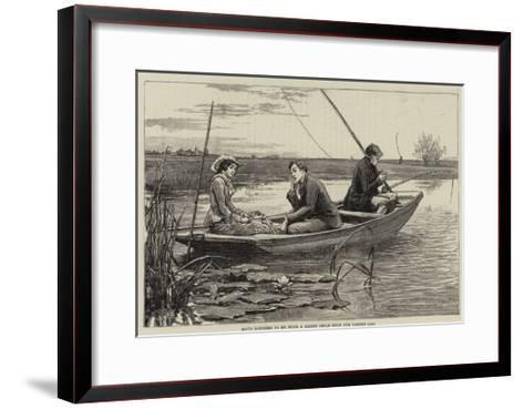 Illustration for Thirlby Hall-William Small-Framed Art Print