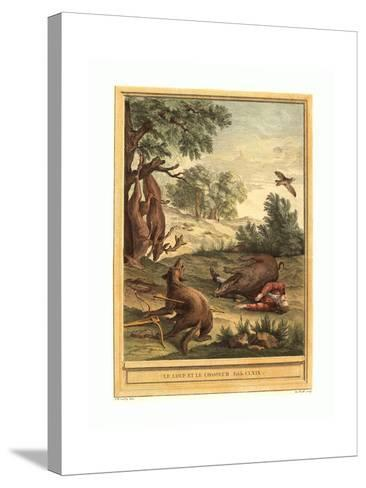 A.J. De Fehrt after Jean Baptiste Oudry (French--Stretched Canvas Print