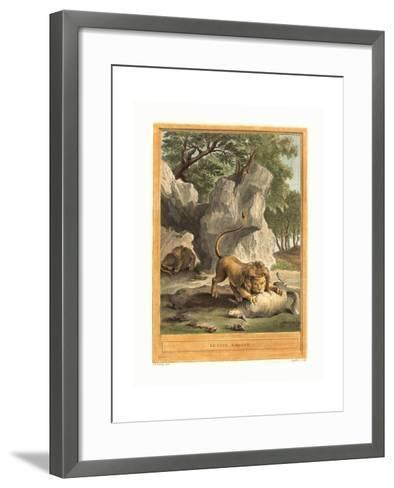 A.J. De Fehrt after Jean Baptiste Oudry (French--Framed Art Print