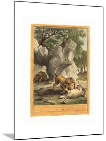 A.J. De Fehrt after Jean Baptiste Oudry (French--Mounted Giclee Print