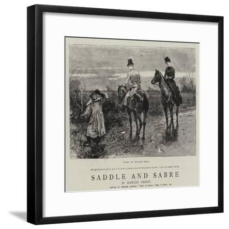 Saddle and Sabre-William Small-Framed Art Print