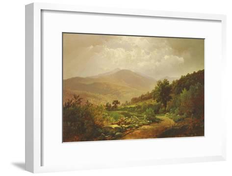 Bouquet Valley in the Adirondacks-William Trost Richards-Framed Art Print