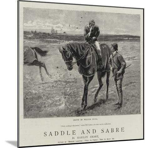 Saddle and Sabre-William Small-Mounted Giclee Print