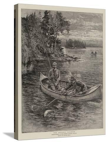 The Angler's Paradise-William Small-Stretched Canvas Print