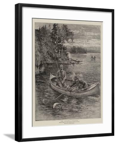 The Angler's Paradise-William Small-Framed Art Print