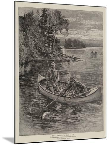 The Angler's Paradise-William Small-Mounted Giclee Print